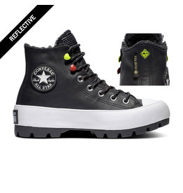 CONVERSE CHUCK TAYLOR  LUGGED WINTER HI BLACK/BLACK/WHITE CC094BW-569554C