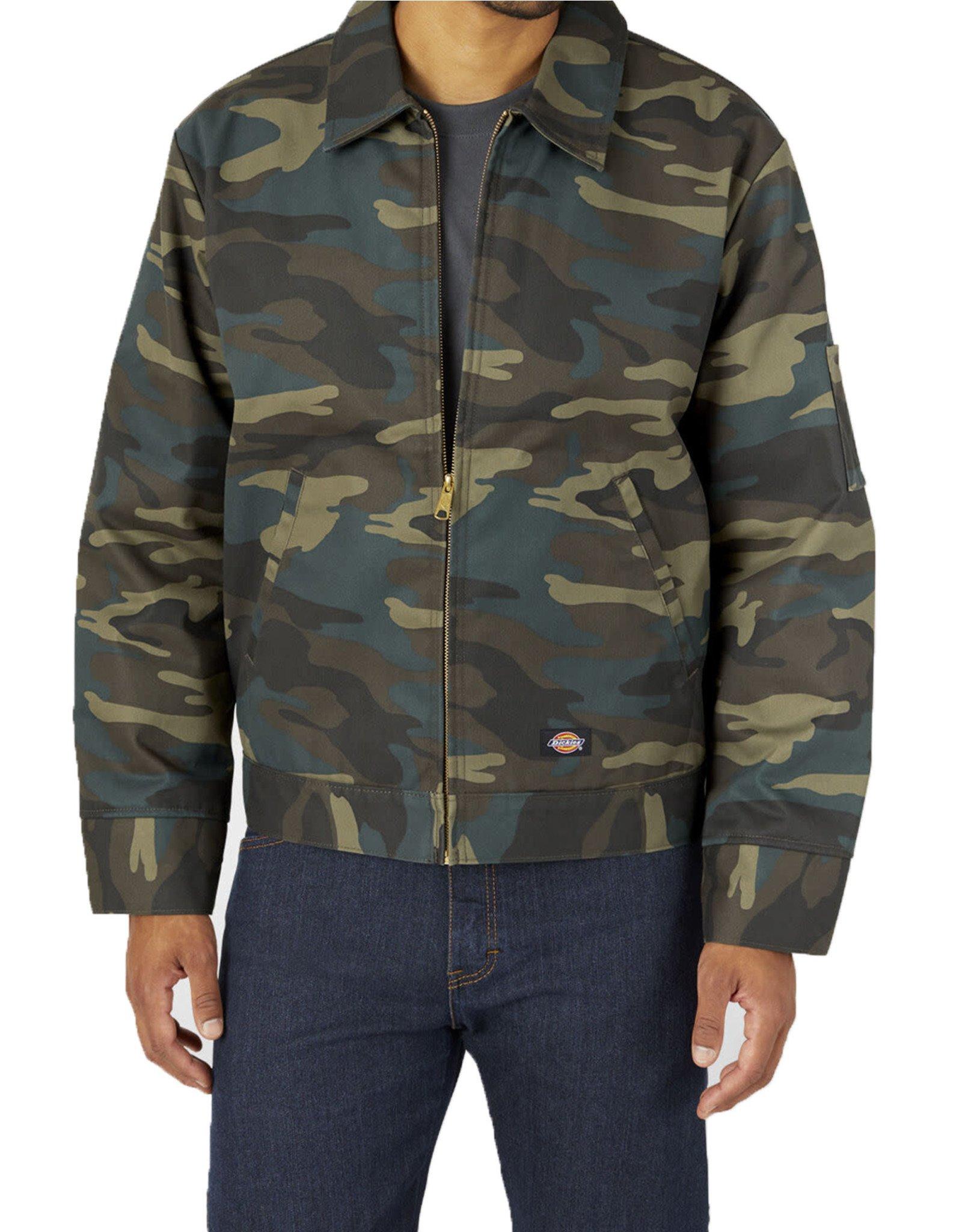 DICKIES Insulated Eisenhower Jacket Hunter Green Camo