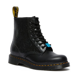 DR. MARTENS 1460 KEITH HARING FIG BLACK/MULTI 815KH-R26832001