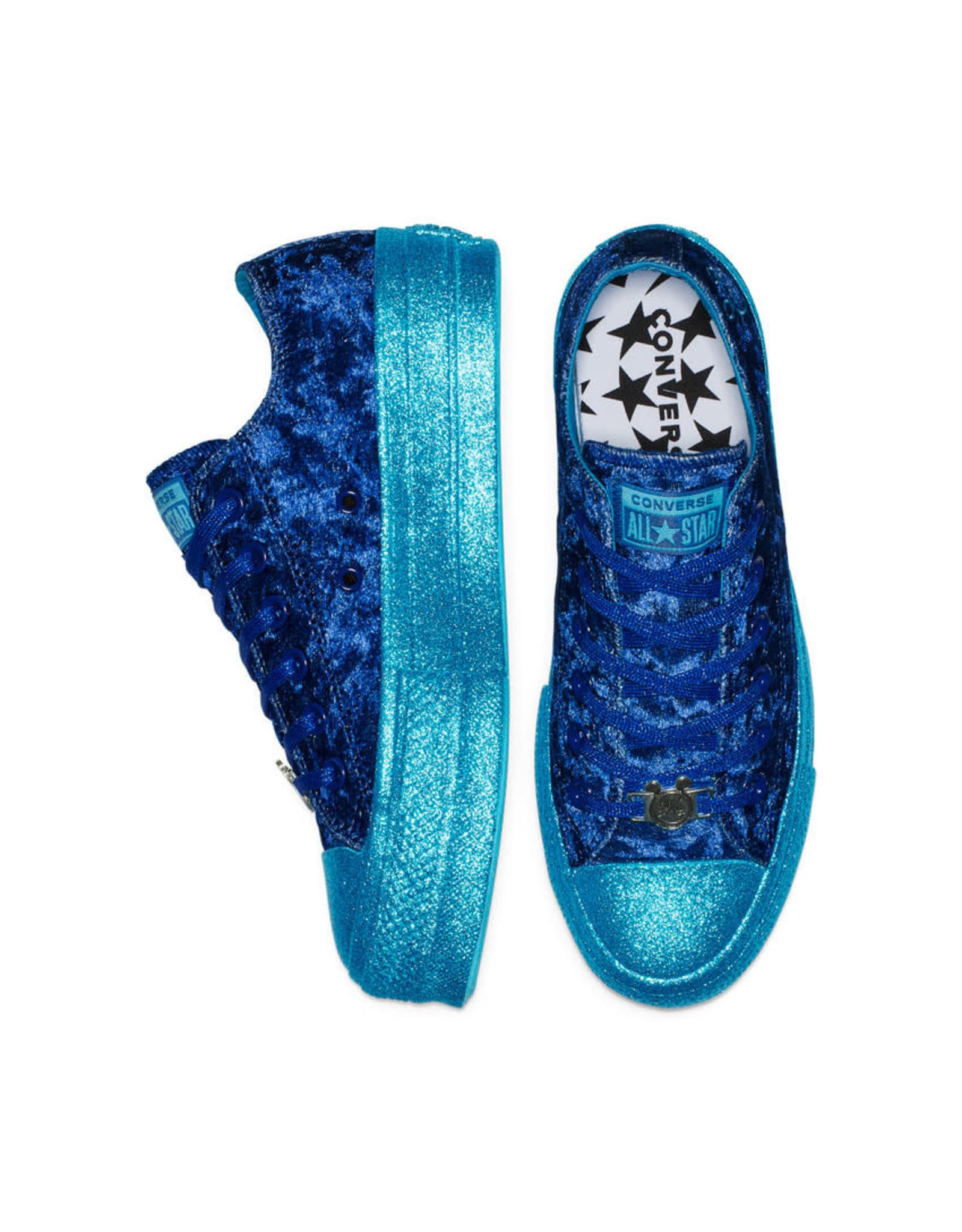 CONVERSE CHUCK TAYLOR AS  LIFT OX MILEY CYRUS GNARLY BLUE/BLUE C13MCG-563721C