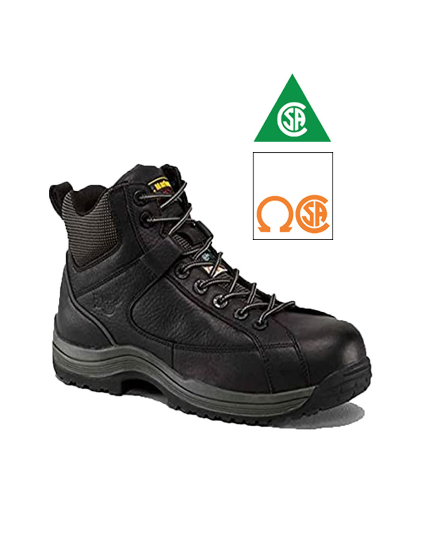 DR. MARTENS 7A74  BLACK CSA CAP 640B-R14480001