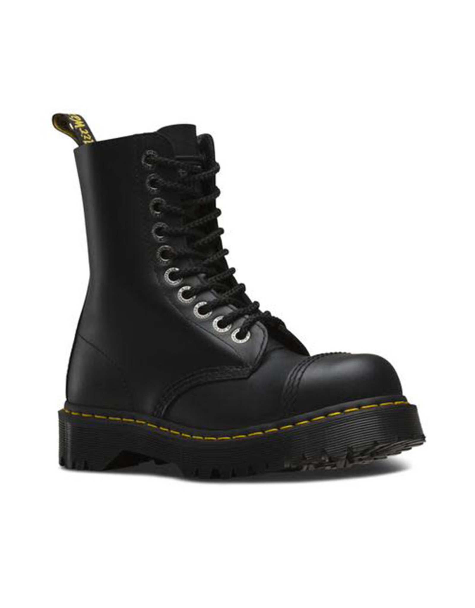 DR. MARTENS 8761 BXB BOOT CAP BLACK FINE HAIRCELL 1014B-R10966001