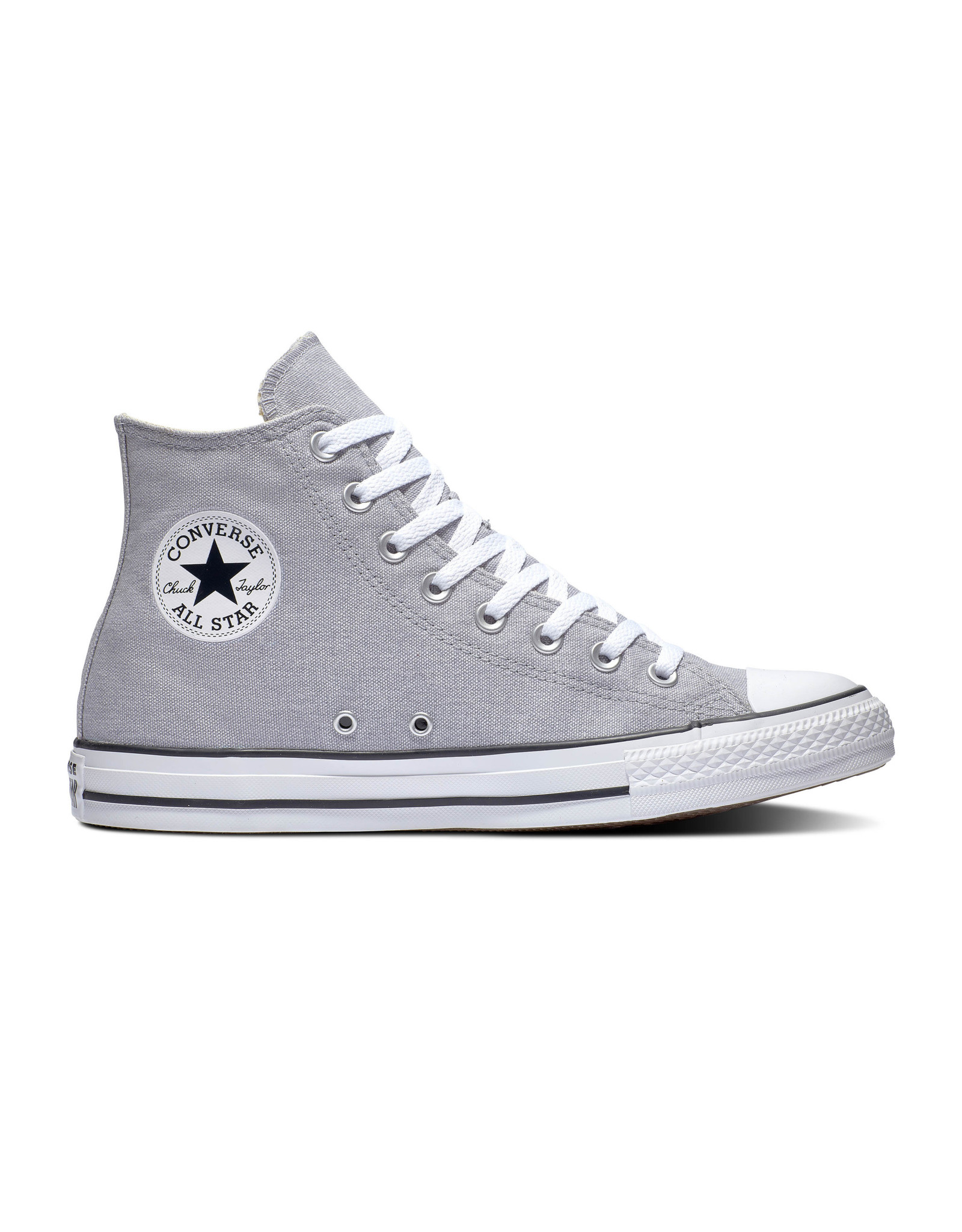 CONVERSE CHUCK TAYLOR ALL STAR HI WOLF GREY/NATURAL IVORY/WHITE C19WG-164449C