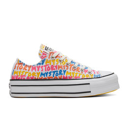 CONVERSE CHUCK TAYLOR ALL STAR DOUBLE STACK LIFT OX EGRET/AMARILLO C15PMYS-570322C
