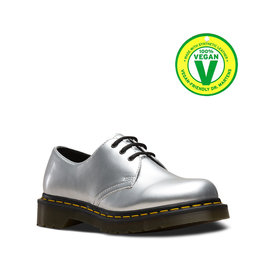 DR. MARTENS 1461 VEGAN CHROME PAINT METALLIC SILVER 301VCS-R24864040