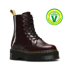 DR. MARTENS V JADON II CHERRY RED CAMBRIDGE BRUSH 853CRA-R22563600