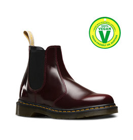 DR. MARTENS VEGAN 2976 CHERRY RED CAMBRIDGE BRUSH E4CAM-R21802600