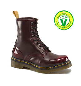 DR. MARTENS VEGAN 1460 CHERRY RED CAMBRIDGE BRUSH 815VECA-R23756600
