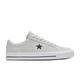 CONVERSE ONE STAR PRO OX PALE PUTTY/WHITE/WHITE C187PAP-170072C