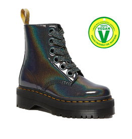 DR. MARTENS VEGAN MOLLY GUNMETAL PRYSM 653GM-R26227029