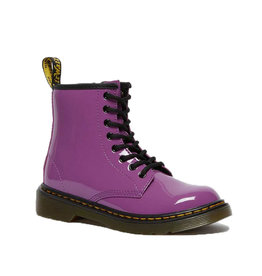 DR. MARTENS 1460 PASCAL JUNIOR BRIGHT PURPLE PATENT LAMPER Y815JPPU-R26601501