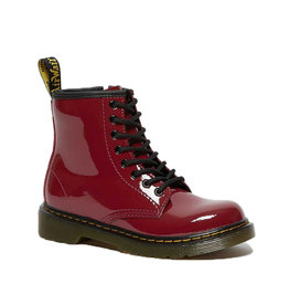 DR. MARTENS 1460 JUNIOR DARK SCOOTER RED PATENT LAMPER Y815JDS-R26041655
