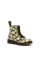 DR. MARTENS 1460 PASCAL YOUTH BLACK DMS/YELLOW PANSY FAYRE T LAMPER Y815YPF-R26774001