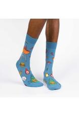 SOCK IT TO ME - Men's Grillin' It Crew Socks