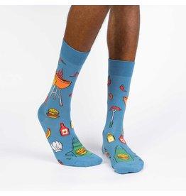 SOCK IT TO ME Copy of - Men's Head Over Heel Crew Socks