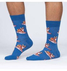 SOCK IT TO ME - Men's Corgi-bunga! Crew Socks