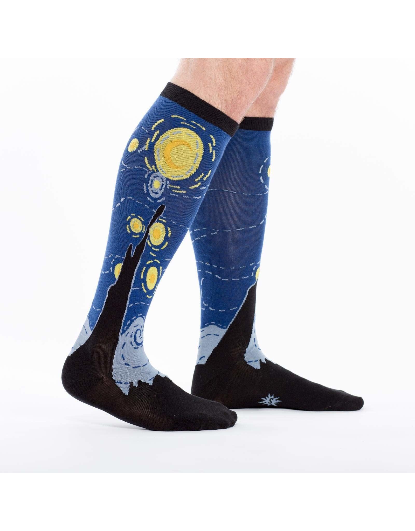SOCK IT TO ME - Stretch-It Knee High Starry Night Socks