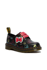 DR. MARTENS 1461 HELLO KITTY + FRIENDS BLACK  + MULTI SMOOTH 301HKF-R26841001