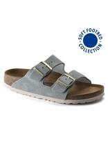 BIRKENSTOCK Arizona Soft Footbed Light Blue Suede N AR-SBSU-N 1016393