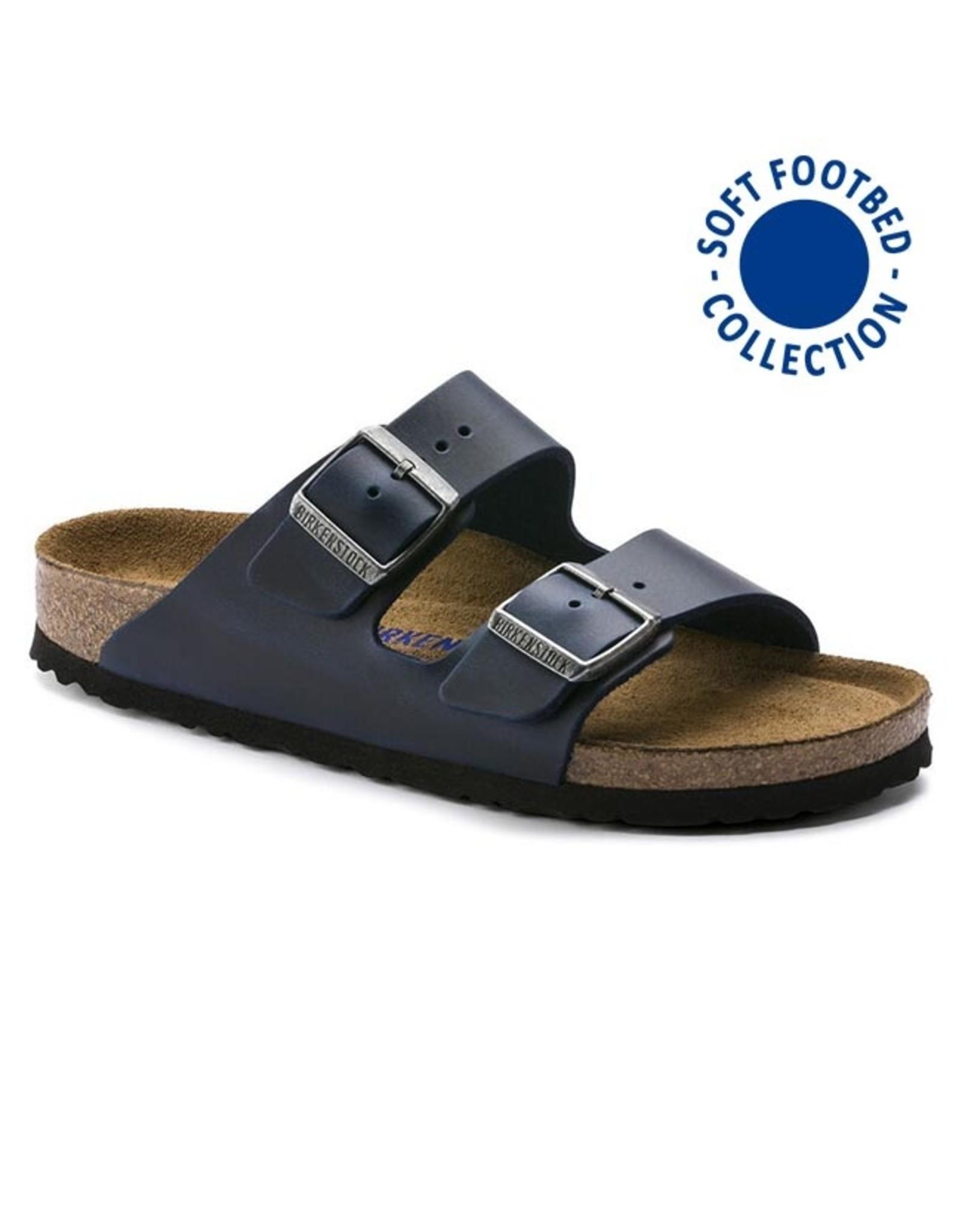 BIRKENSTOCK Arizona Soft Footbed Blue Oiled Leather R AR-SBOL-R 1013643