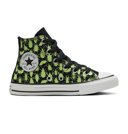 CONVERSE CHUCK TAYLOR ALL STAR HI BLACK/CERAMIC GREEN/WHITE CBUGS-670880C