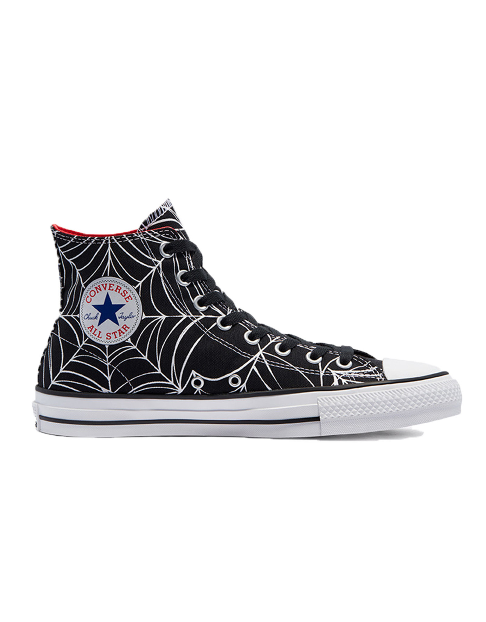 CONVERSE CHUCK TAYLOR ALL STAR PRO HI BLACK/UNIVERSITY RED/WHITE C188WEB-170938C