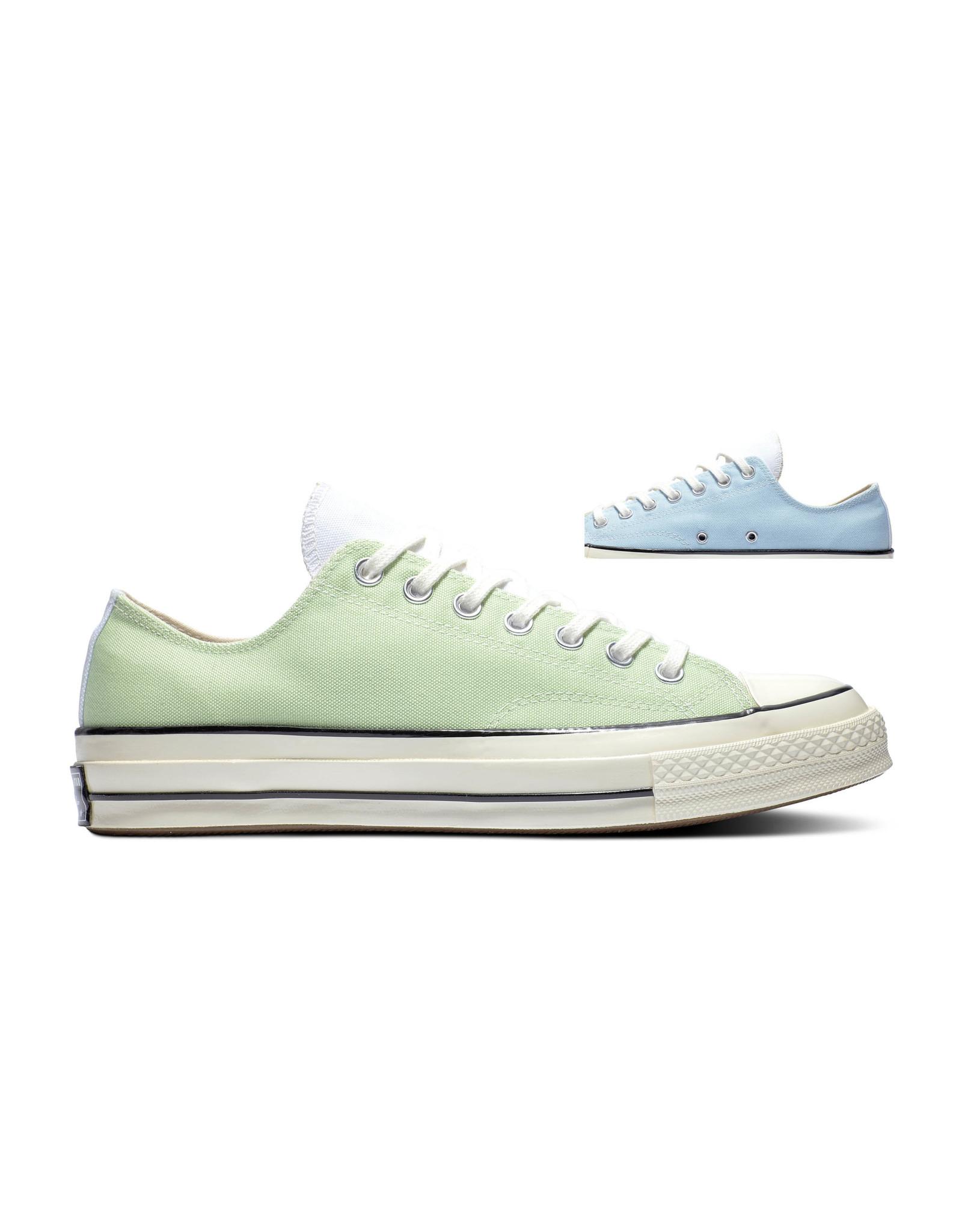 CONVERSE CHUCK 70 OX CHAMBRAY BLUE/SPRING GREEN C170CHAX-170959C