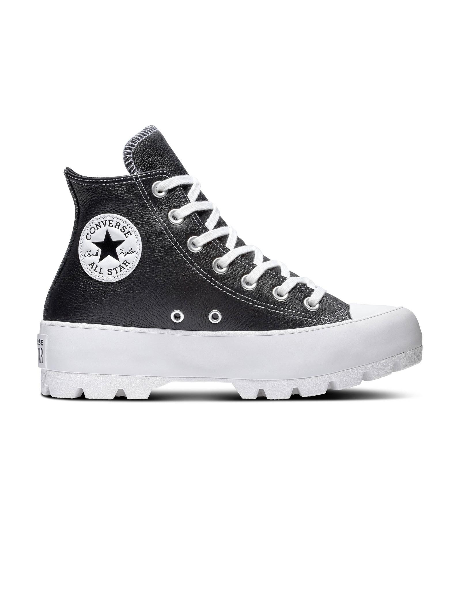 CONVERSE CHUCK TAYLOR ALL STAR  LUGGED HI BLACK/WHITE/WHITE CC094B-567164C