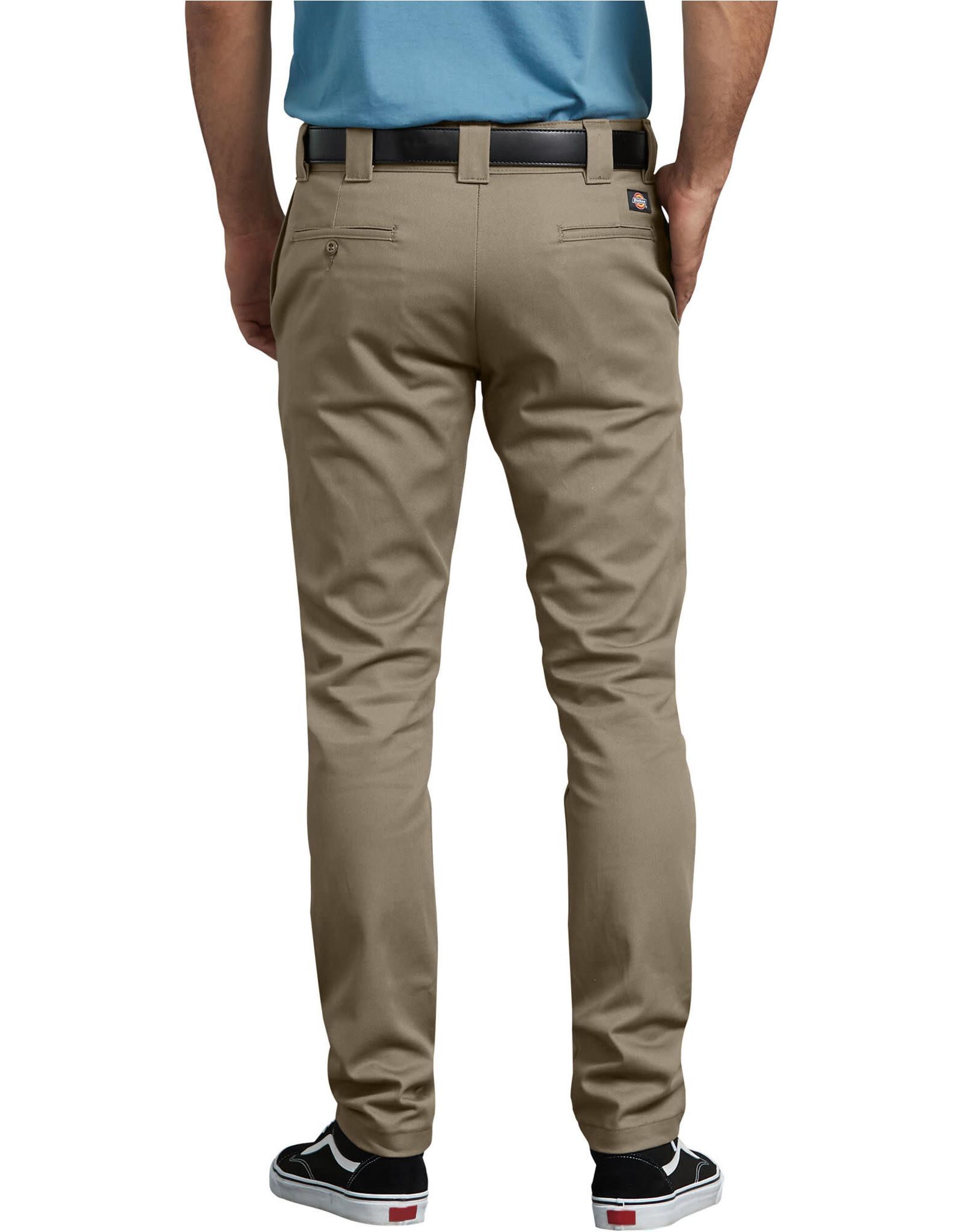 DICKIES FLEX Slim Skinny Fit Twill Work Pants