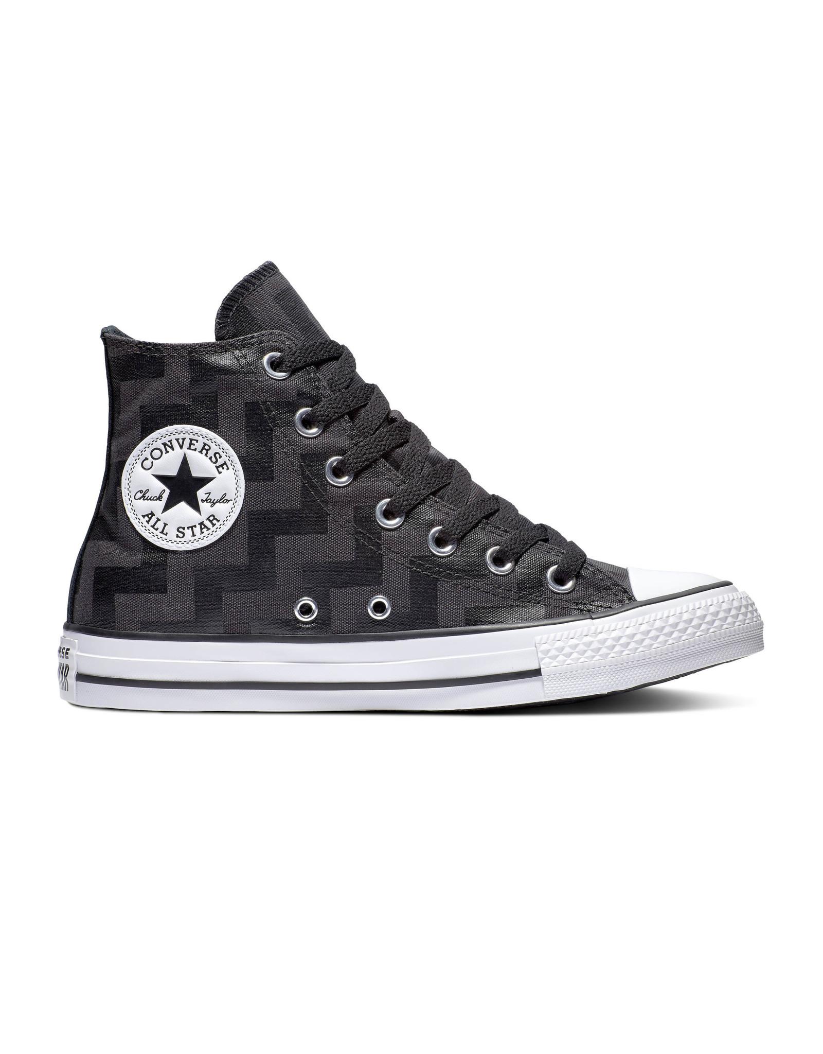 CONVERSE CHUCK TAYLOR ALL STAR HI BLACK/ALMOST BLACK/WHITE C19SAL-565212C