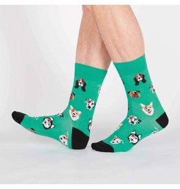 SOCK IT TO ME Men's Dogs of Rock Crew Socks