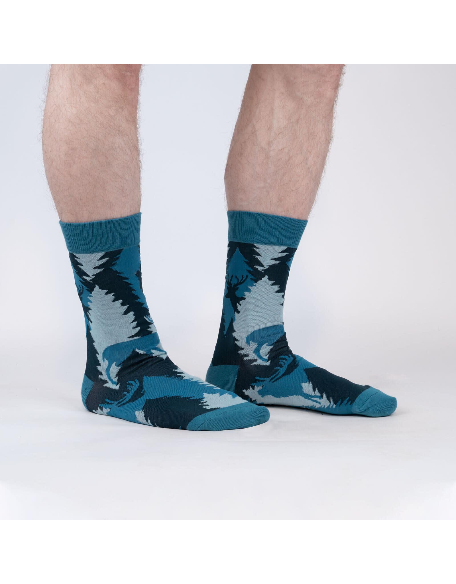 SOCK IT TO ME Men's Going Stag Crew Socks
