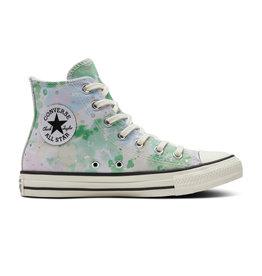 CONVERSE CHUCK TAYLOR ALL STAR HI EGRET/SPRING GREEN/BLACK C21WAG-570765C