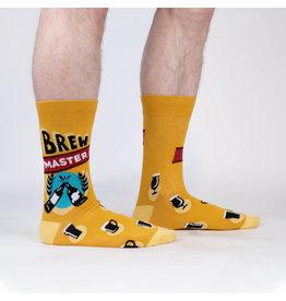 SOCK IT TO ME Men's Brew Master Crew Socks