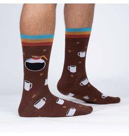 SOCK IT TO ME Men's Pothead Crew Socks