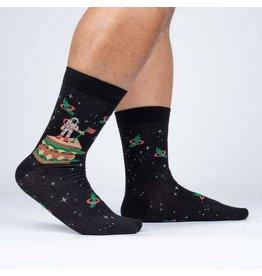 SOCK IT TO ME Men's Moon Club Crew Socks