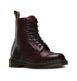 DR. MARTENS PASCAL CHERRY RED ANTIQUE TEMPERLEY 815CRAT-