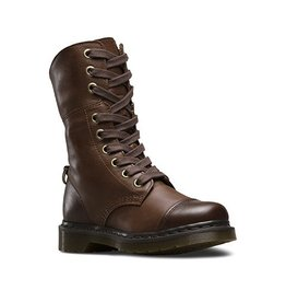 DR. MARTENS AIMILITA DARK BROWN DARKENED MIRAGE 901DB-R20212201