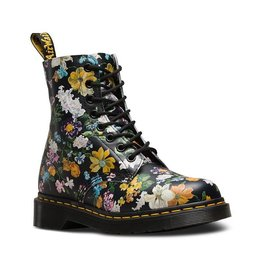 DR. MARTENS PASCAL DF BLACK DARCY FLORAL BACKHAND 815BFD-R22728001