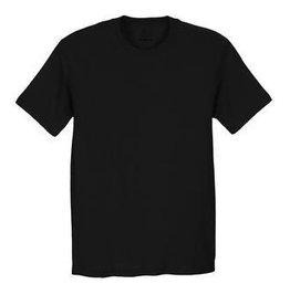 FRUIT OF THE LOOM - Plain Black T-Shirt
