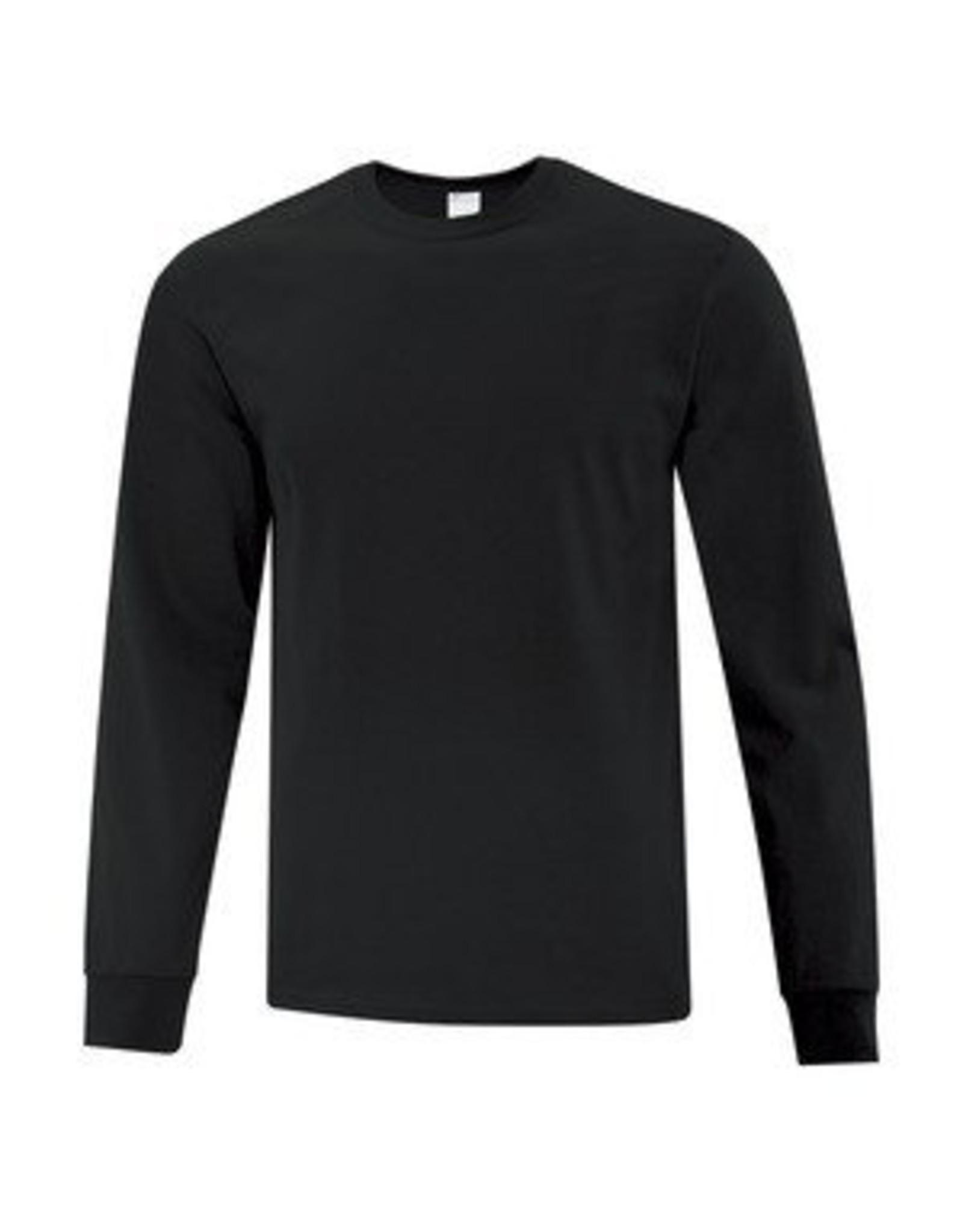 FRUIT OF THE LOOM Plain Colour Longsleeve Shirt