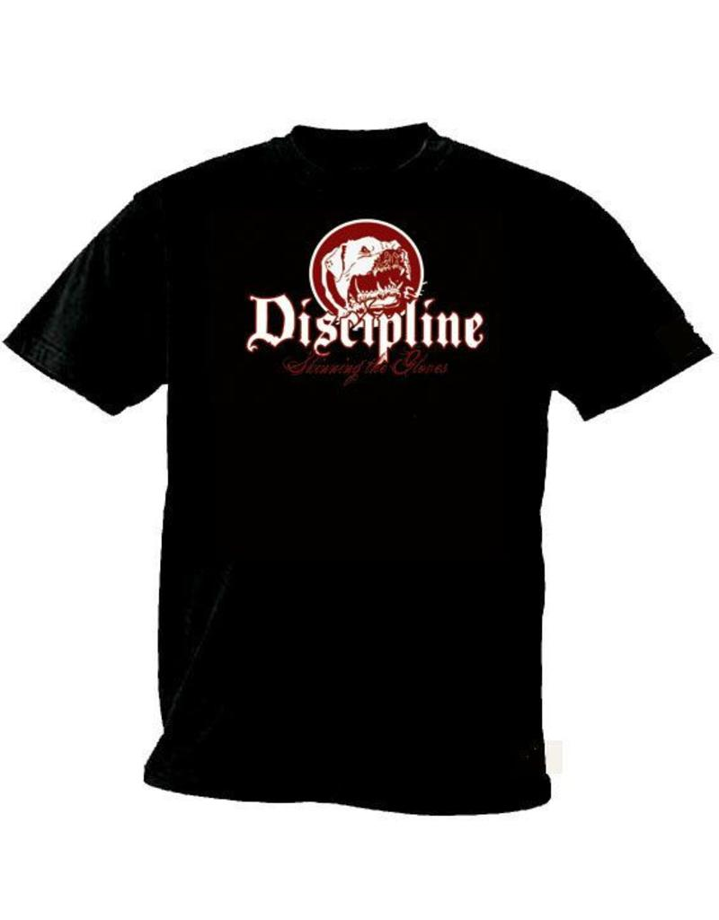 Discipline Skinning the Gloves Shirt