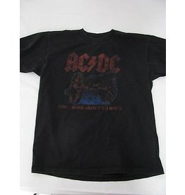 ACDC About to Rock Tour Shirt