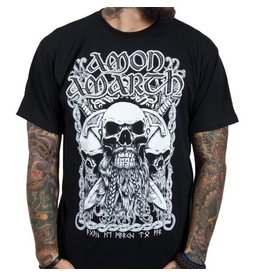 Amon Amarth Viking Skull Shirt