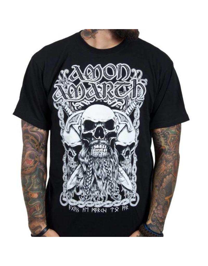 Amon Amarth Viking Skull Shirt