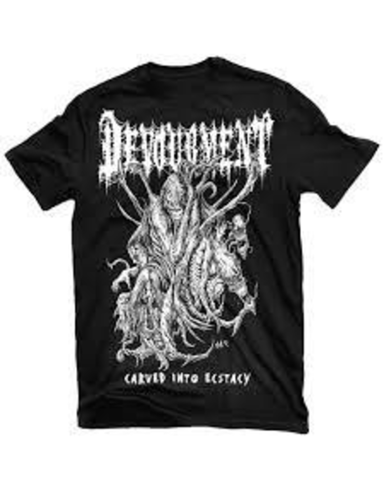 Devourement Carved Into Ecstacy Shirt Medium