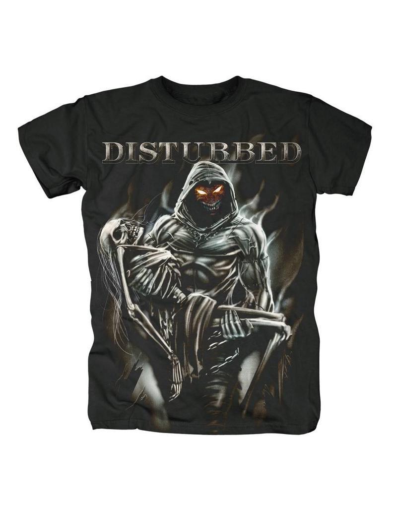 Disturbed Carrying Skeleton Shirt