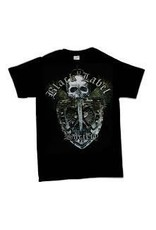Black Label Society Sword Skull Shirt