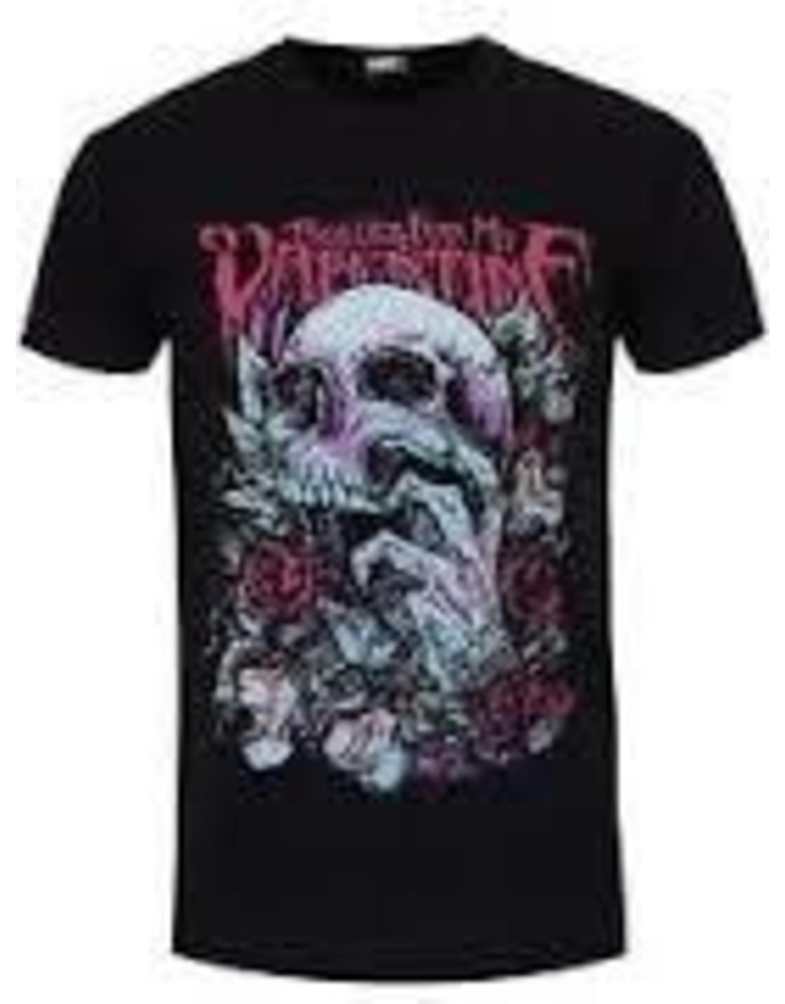Bullet For My Valentine Pink Skull Shirt