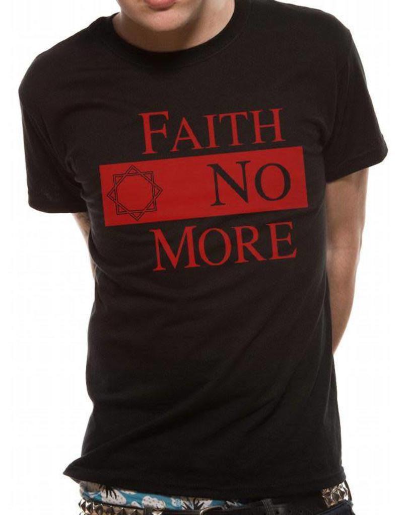 Faith No More Red Font Shirt